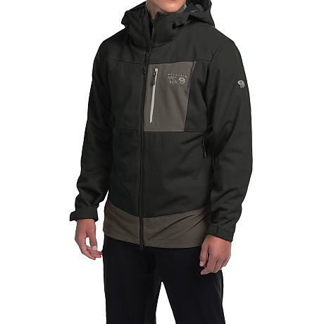 photo: Mountain Hardwear Dragon Hooded Jacket soft shell jacket