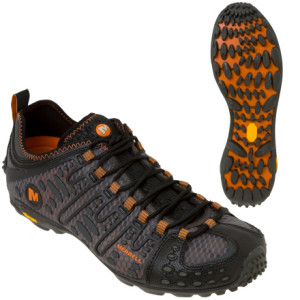 photo: Merrell Robotic trail shoe