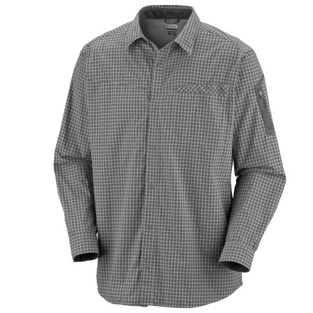 photo: Columbia Speed Work Long Sleeve Shirt hiking shirt
