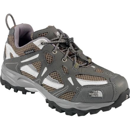 photo: The North Face Boys' Hedgehog WP trail shoe
