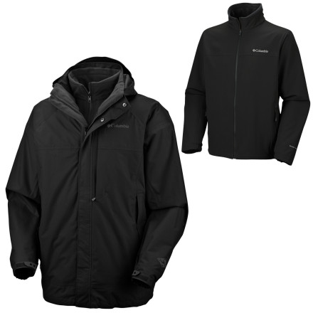 photo: Columbia Erudite Parka snowsport jacket