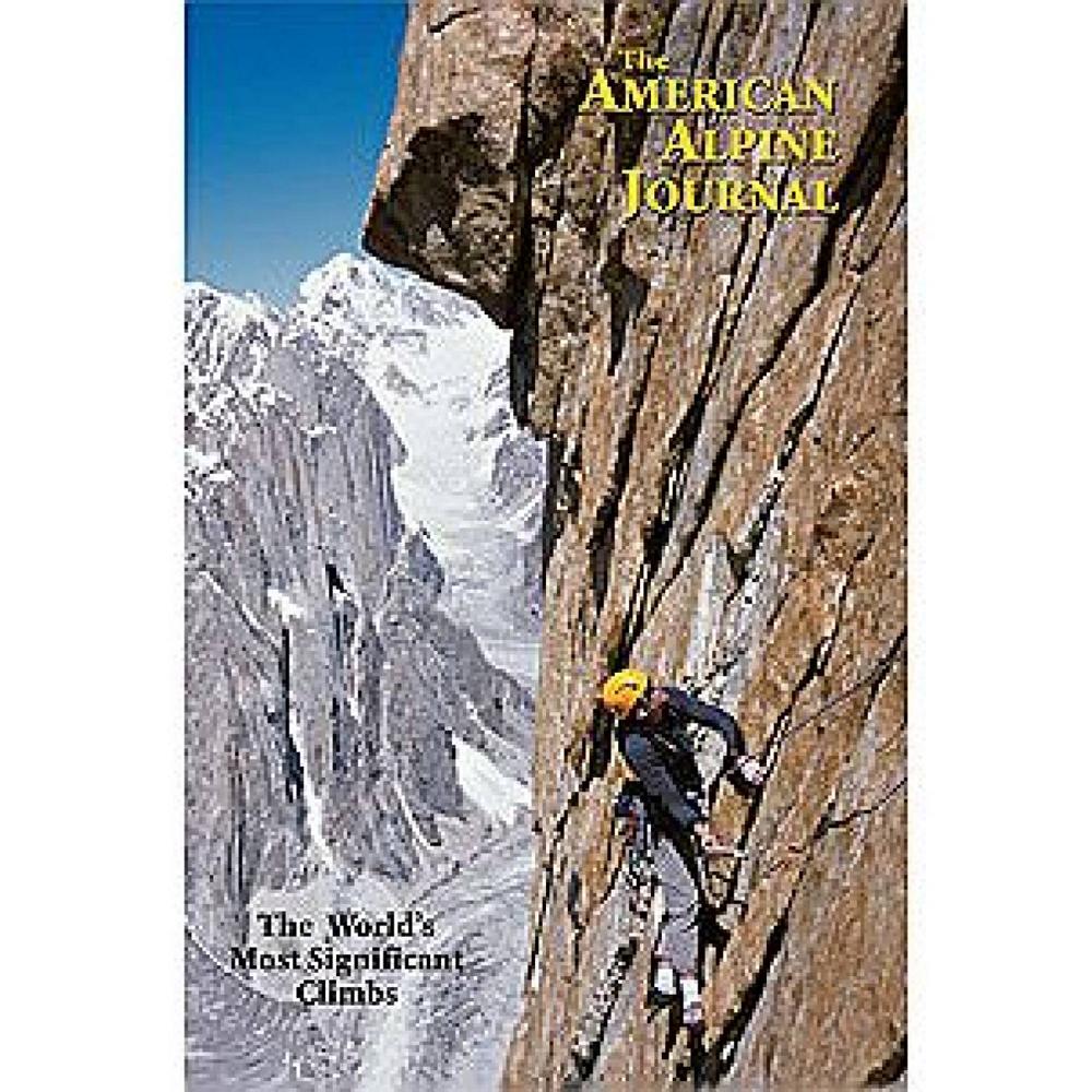 photo: American Alpine Club American Alpine Journal - 2005 climbing book
