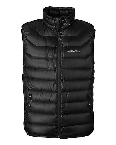 photo: Eddie Bauer Downlight StormDown Vest down insulated vest