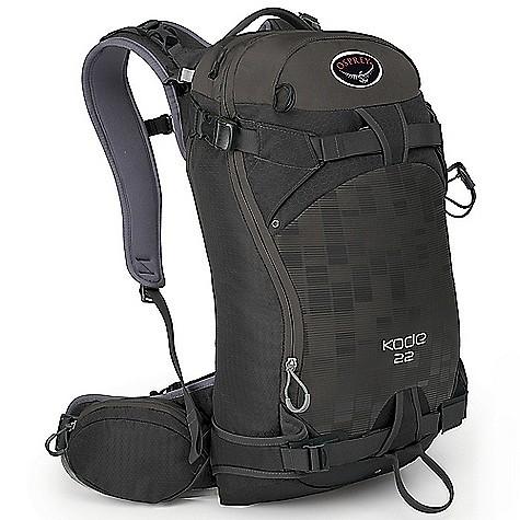 photo: Osprey Kode 22 winter pack