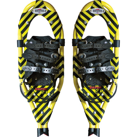 photo: Redfeather Vapor running snowshoe