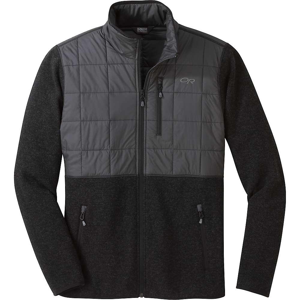 photo: Outdoor Research Vashon Hybrid Full-Zip fleece jacket