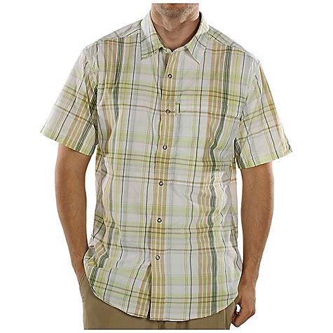 ExOfficio Trip'r Macro Plaid Short-Sleeve Shirt