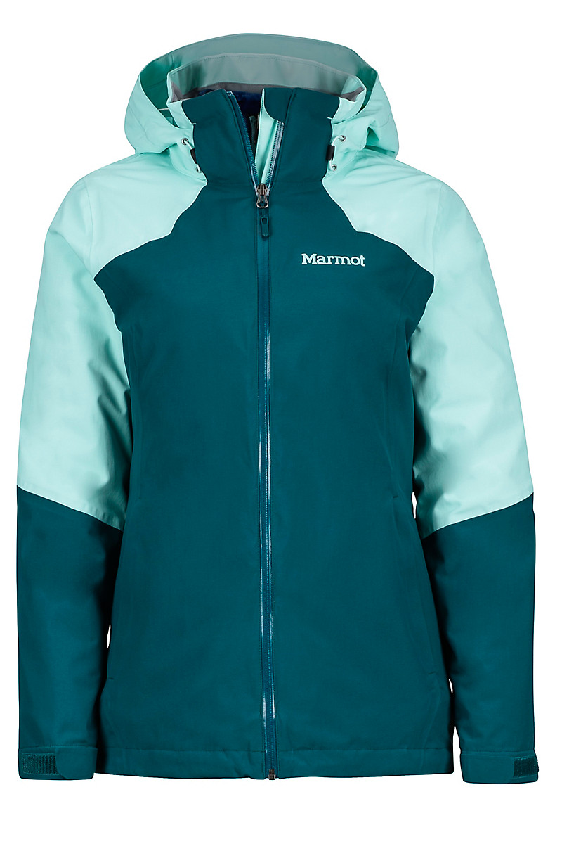 photo: Marmot Women's Featherless Component Jacket component (3-in-1) jacket