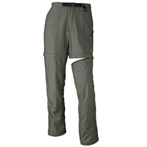 photo: Mountain Hardwear Convertible Pack Pant hiking pant