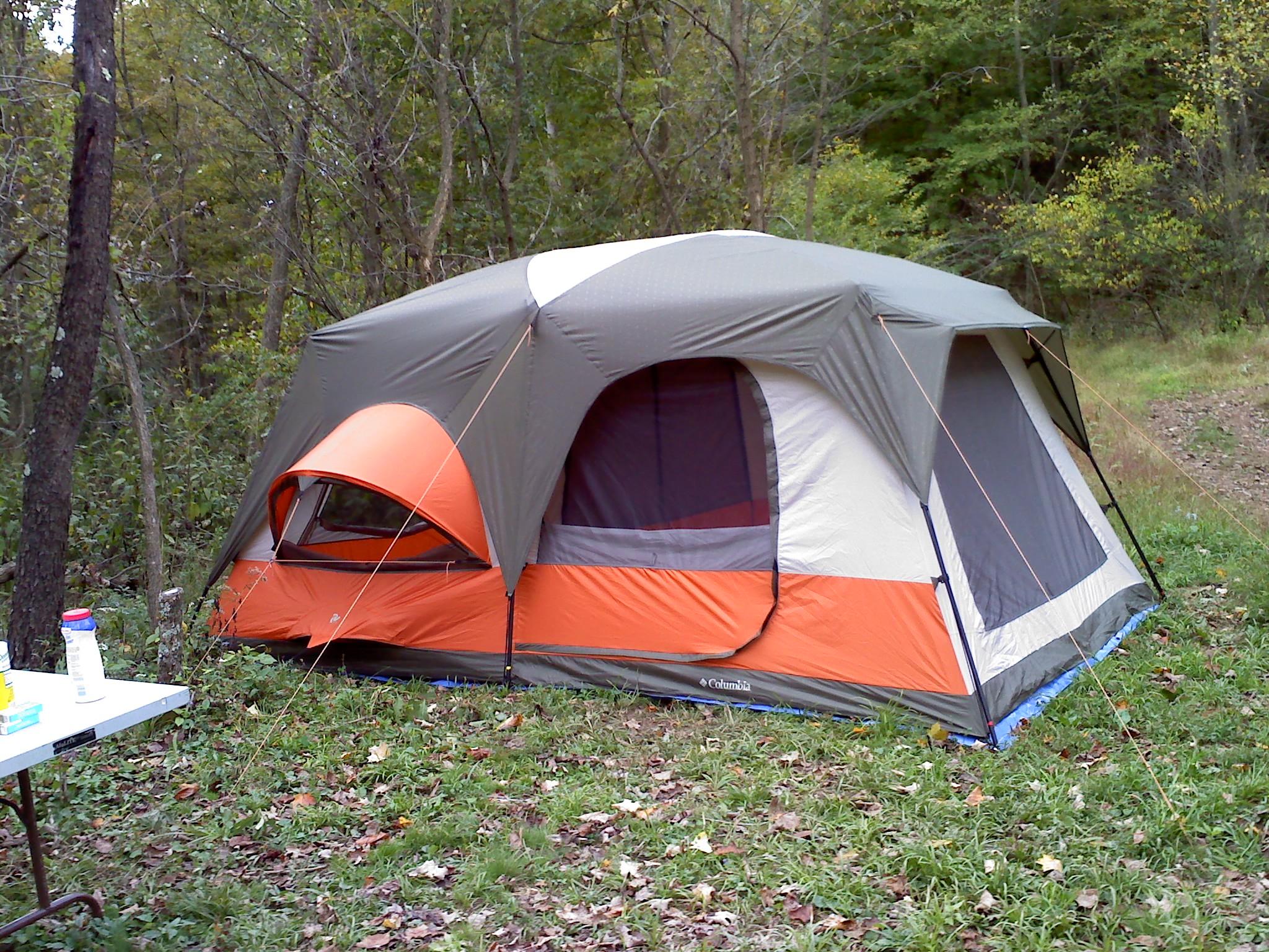 photo: Columbia Cougar Flats II tent/shelter