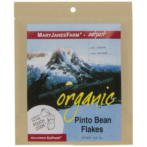 photo: Mary Janes Farm Organic Pinto Bean Flakes snack/side dish