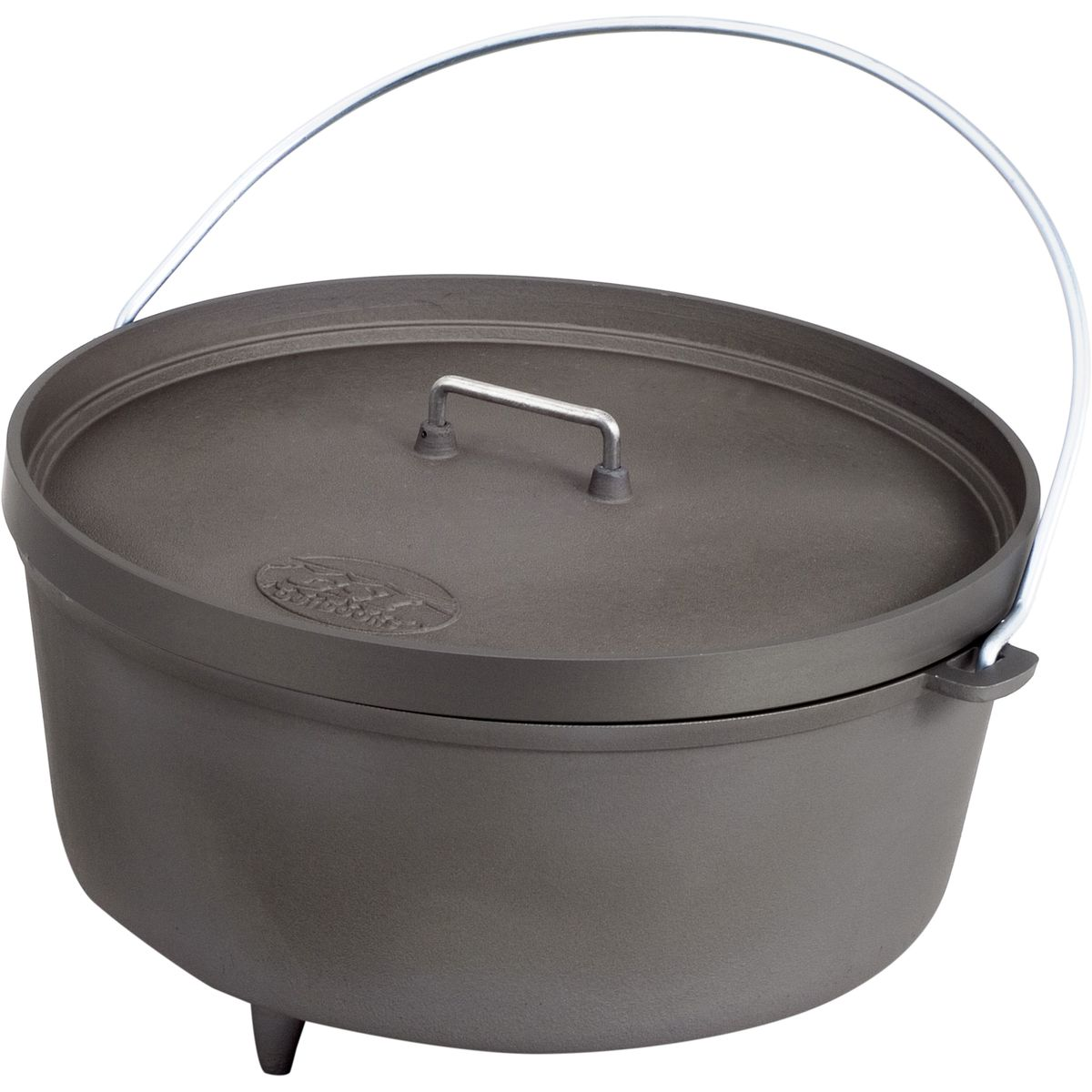 photo: GSI Outdoors Hard Anodized Extreme Dutch Oven pot/pan