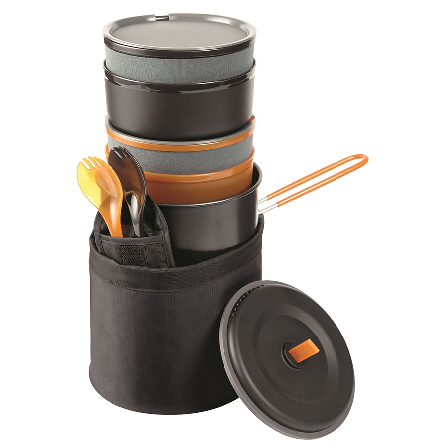 Ozark Trail 10-Piece Easy Storing Camp Cook Set