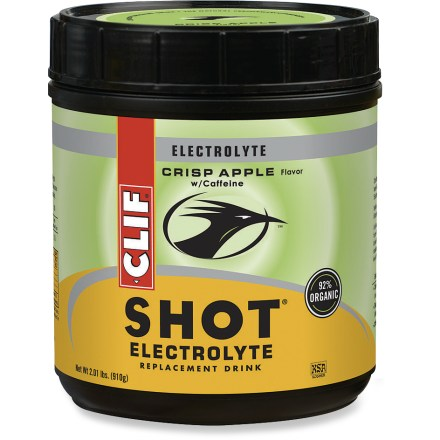 Clif Shot Crisp Apple Electrolyte Drink