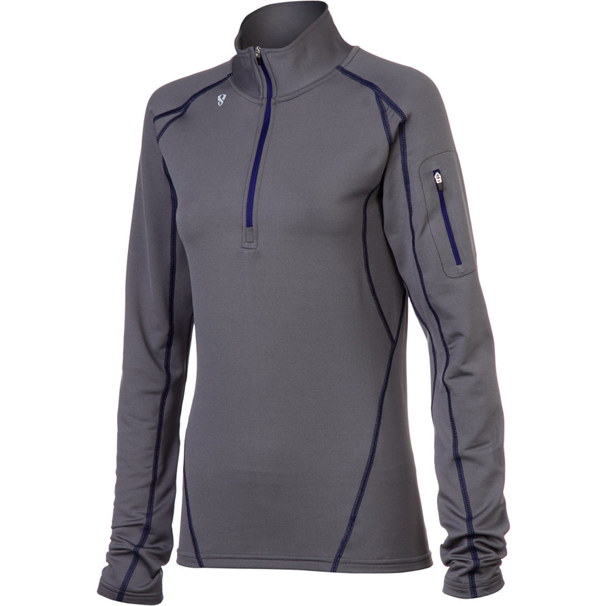 photo: Stoic Women's Breathe Composite Zip T base layer top