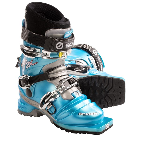 photo: Scarpa T2X telemark boot