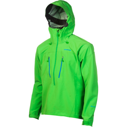 photo: Patagonia Knifeblade Pullover soft shell jacket