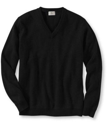 L.L.Bean Cashmere Sweater, V-Neck