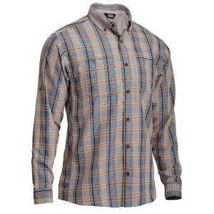 EMS Journey Long-Sleeve Plaid Shirt
