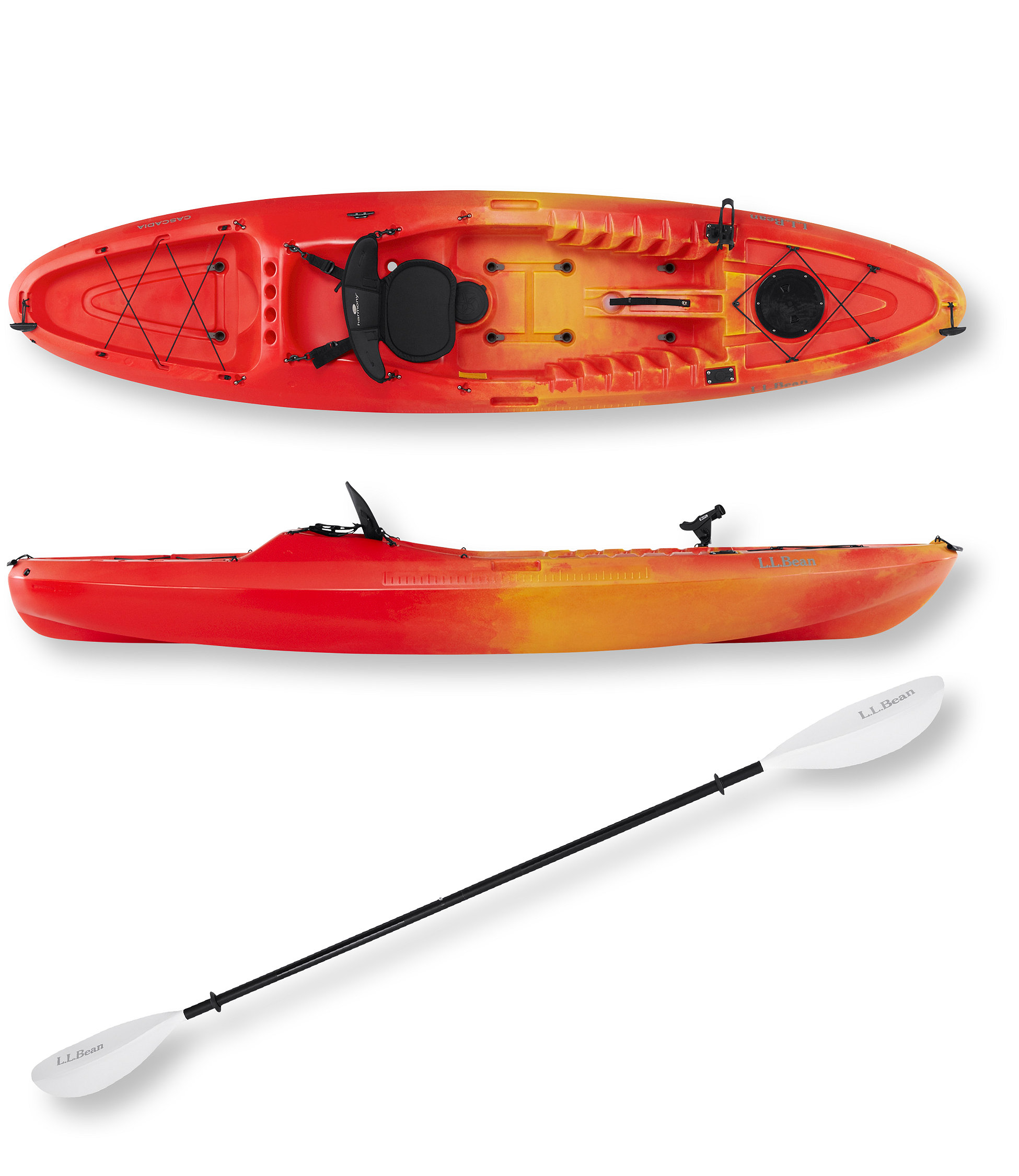 L.L.Bean Cascadia Angler Sit-On-Top Kayak