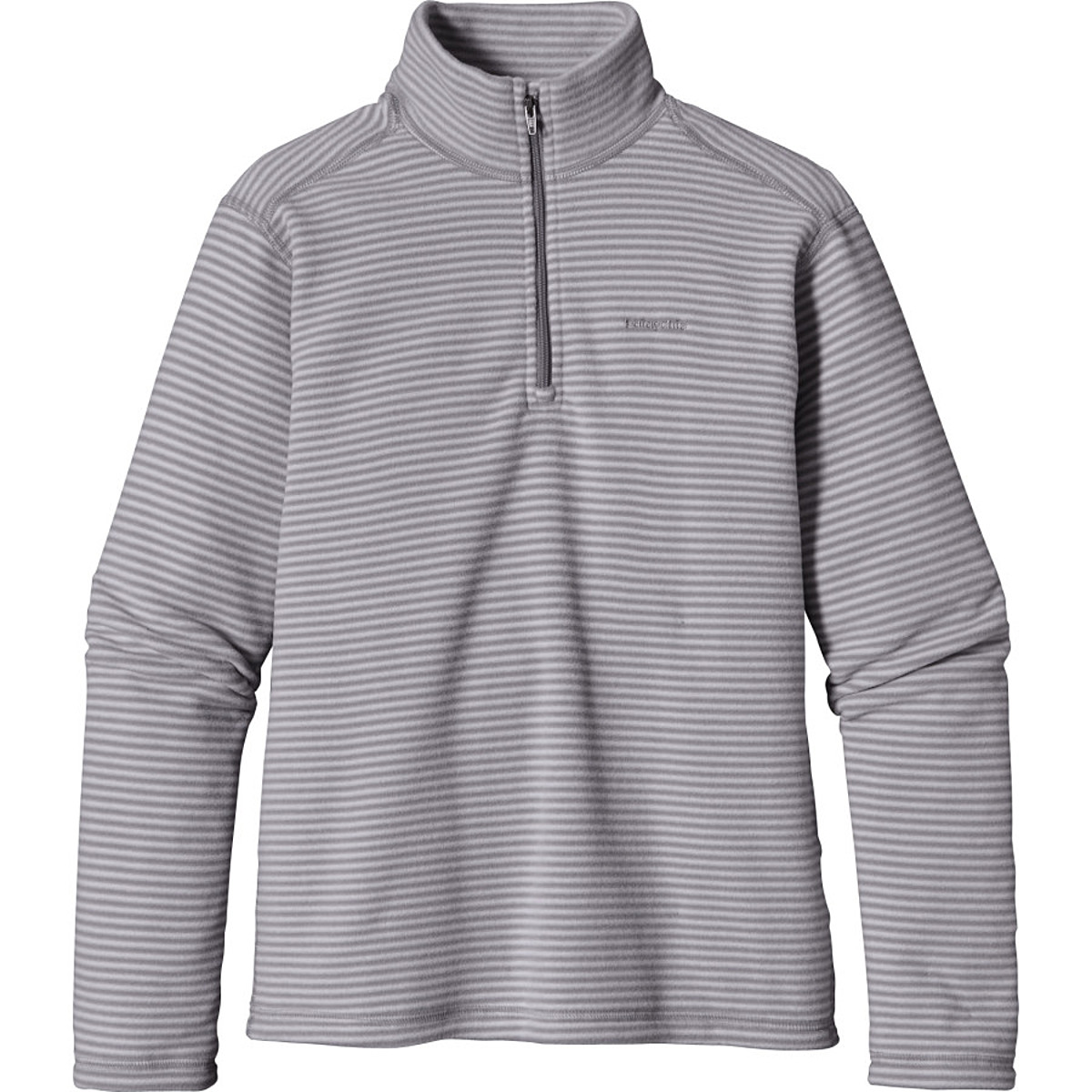 photo: Patagonia Micro D Zip Neck fleece top