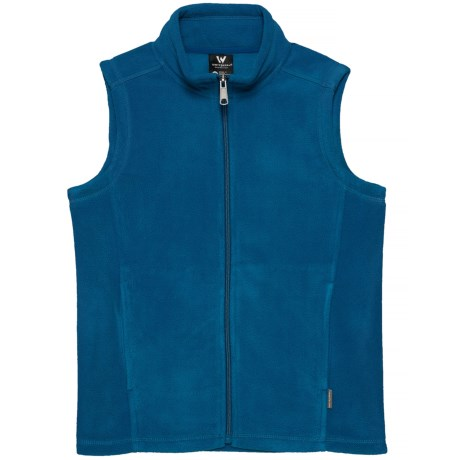 White Sierra Sierra Mountain Fleece Vest