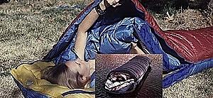 photo: Warmlite Triple Bag cold weather down sleeping bag