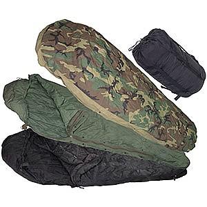 photo: U.S. Military MSS (Modular Sleep System) cold weather synthetic sleeping bag