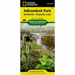 photo: National Geographic Northville/Raquette Lake Map - Adirondack National Park us northeast paper map