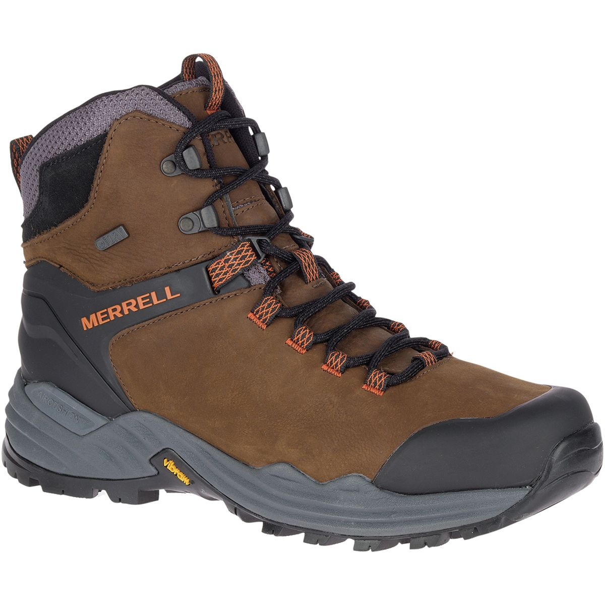 photo: Merrell Phaserbound 2 Tall Waterproof backpacking boot