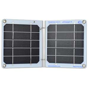 photo: Suntactics sCharger-5 solar panel