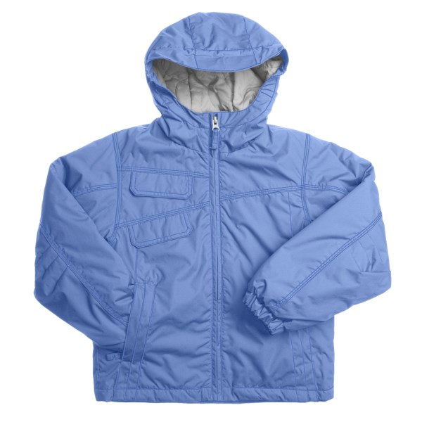 photo: White Sierra Summit Jr. Jacket synthetic insulated jacket