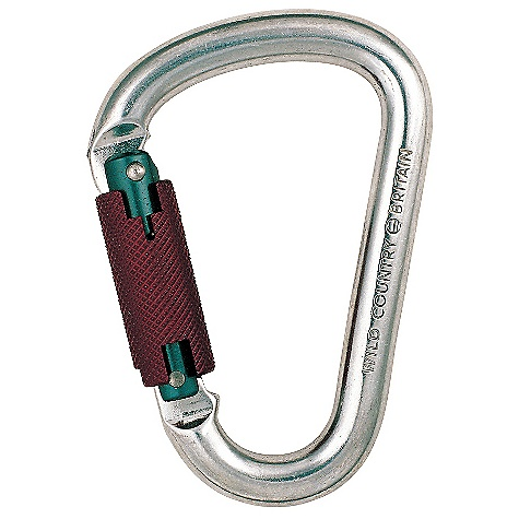 photo: Wild Country Syneregy Keylock Screwgate locking carabiner