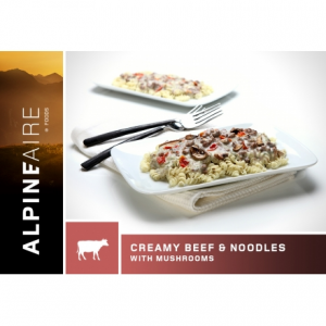 AlpineAire Foods Creamy Beef & Noodles with Mushrooms