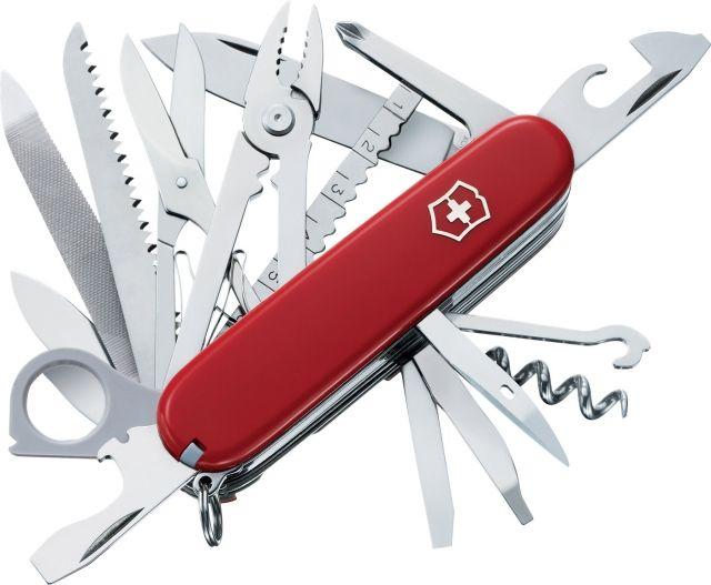 photo: Victorinox Swiss Army SwissChamp multi-tool