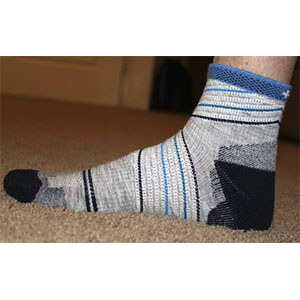 photo: Sockwell Stabilizer 1/4 Sock compression sock