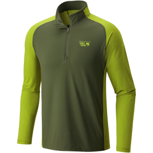 photo: Mountain Hardwear Butterman 1/2 Zip long sleeve performance top