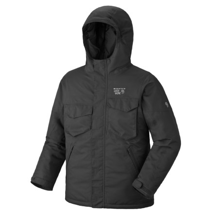 photo: Mountain Hardwear Mancora Jacket snowsport jacket