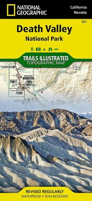 National Geographic Death Valley National Park Map