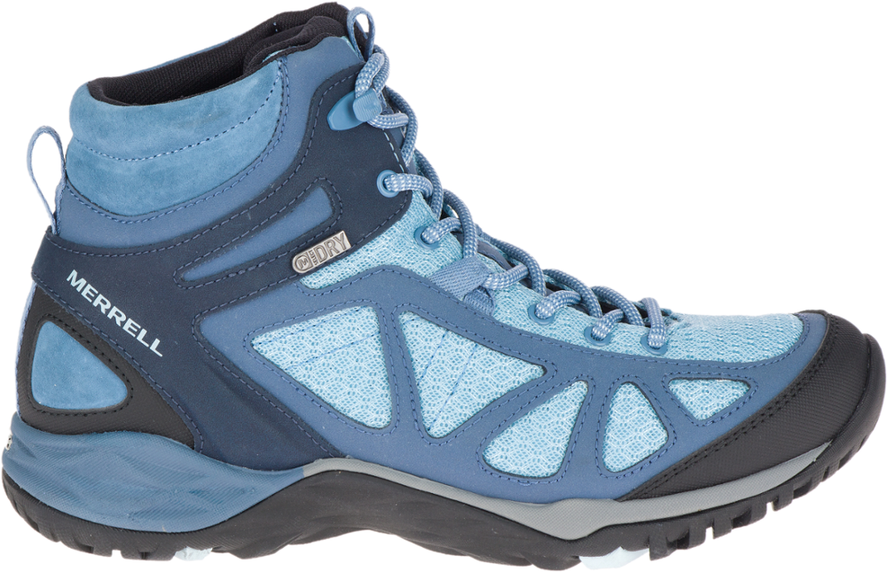 photo: Merrell Siren Sport Q2 Mid Waterproof backpacking boot