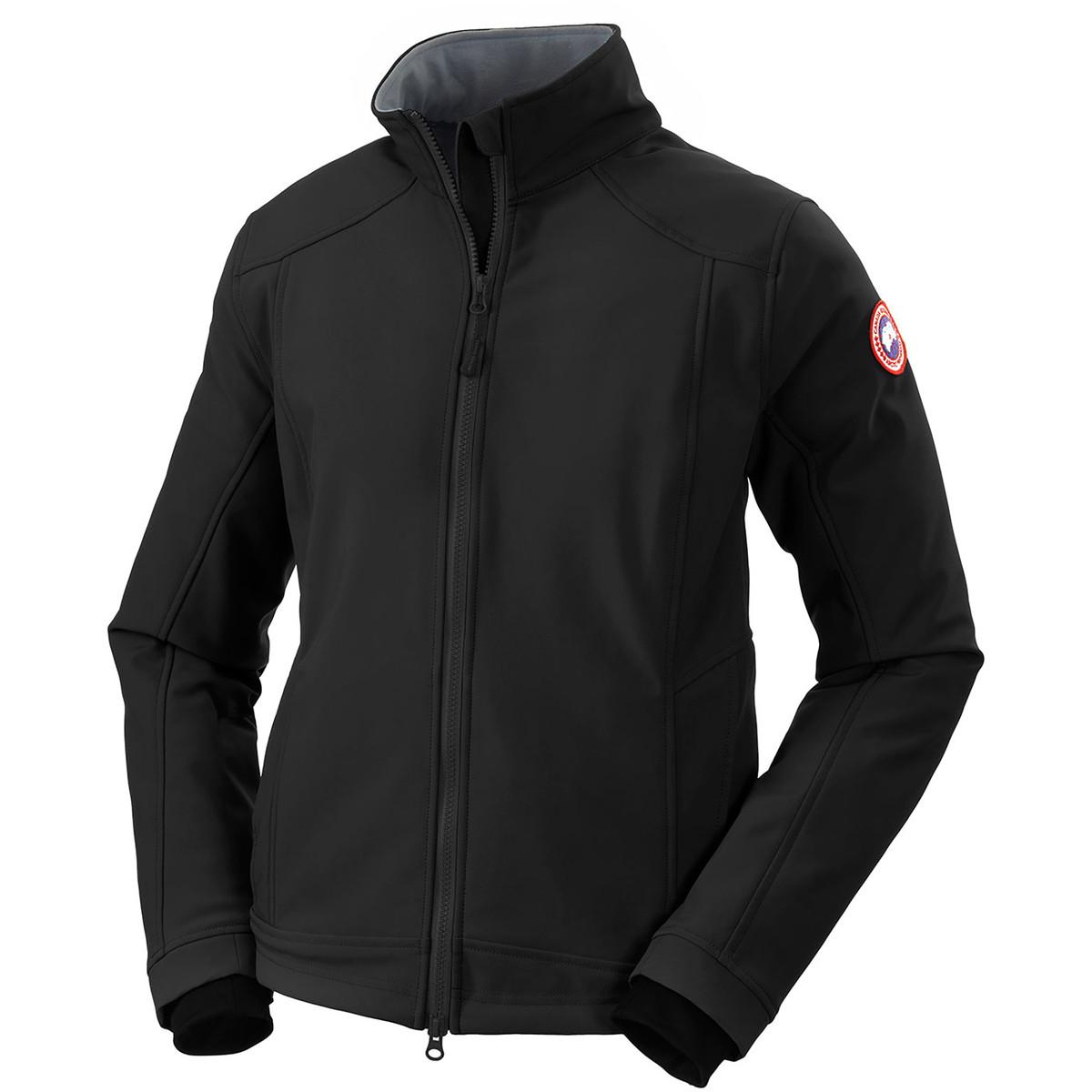 photo: Canada Goose Women's Bracebridge Jacket soft shell jacket