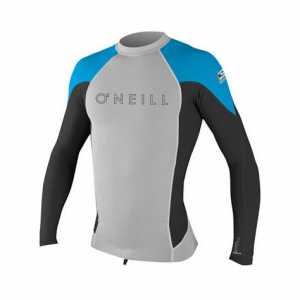 photo: O'Neill Hyperfreak 0.5mm Neo/Skins L/S Crew long sleeve paddling shirt