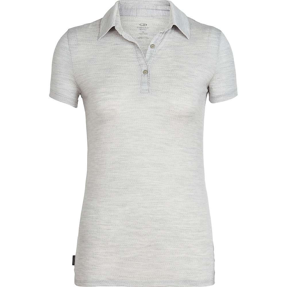 photo: Icebreaker Tech Polo short sleeve performance top