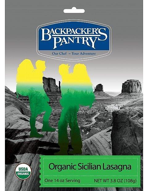 photo: Backpacker's Pantry Organic Sicilian Lasagna vegetarian entrée