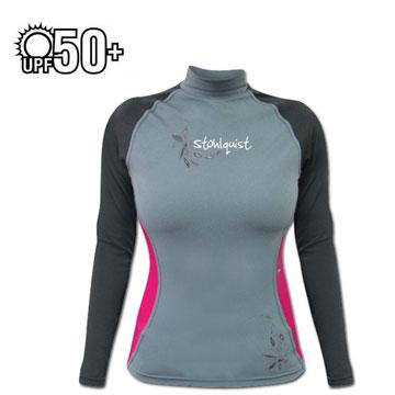 photo: Stohlquist Women's Burnout Long Sleeve Rashguard long sleeve rashguard
