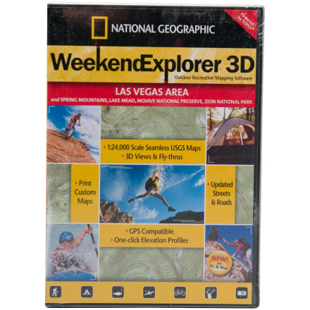 National Geographic Weekend Explorer 3-D - Boise Area CD-ROM