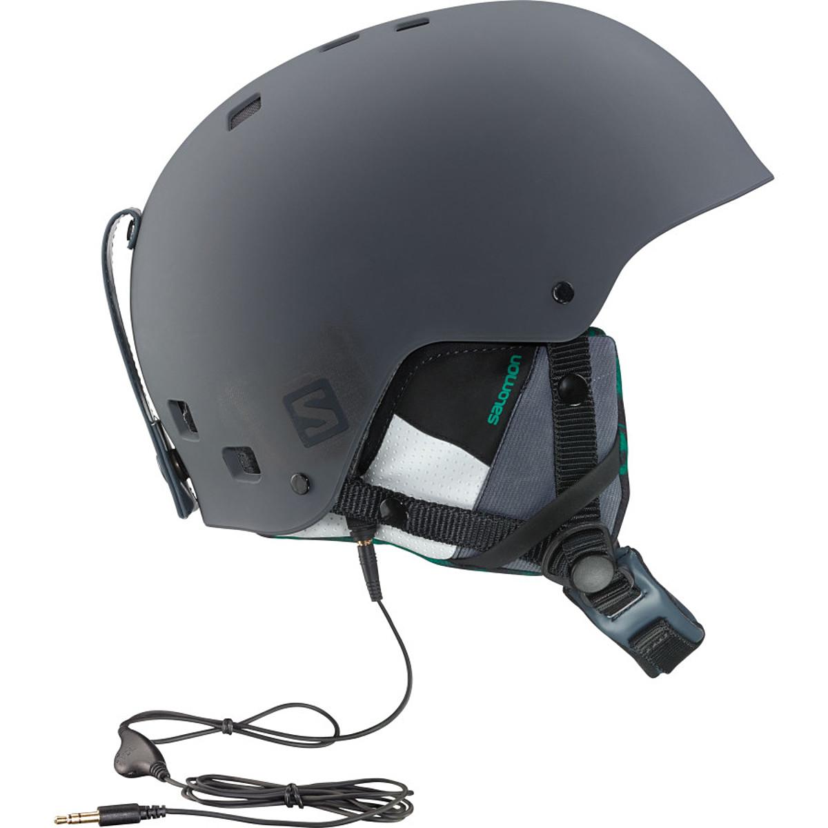 photo: Salomon Brigade Audio Helmet snowsport helmet