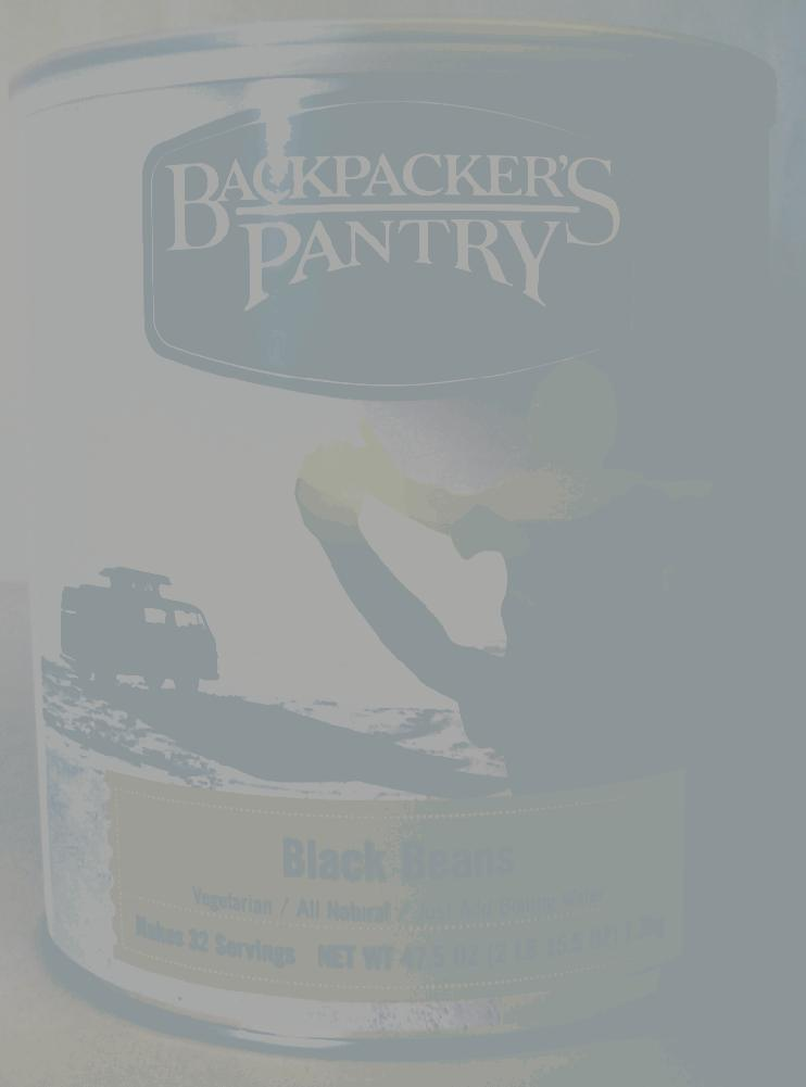Backpacker's Pantry Black Beans - 32 Person