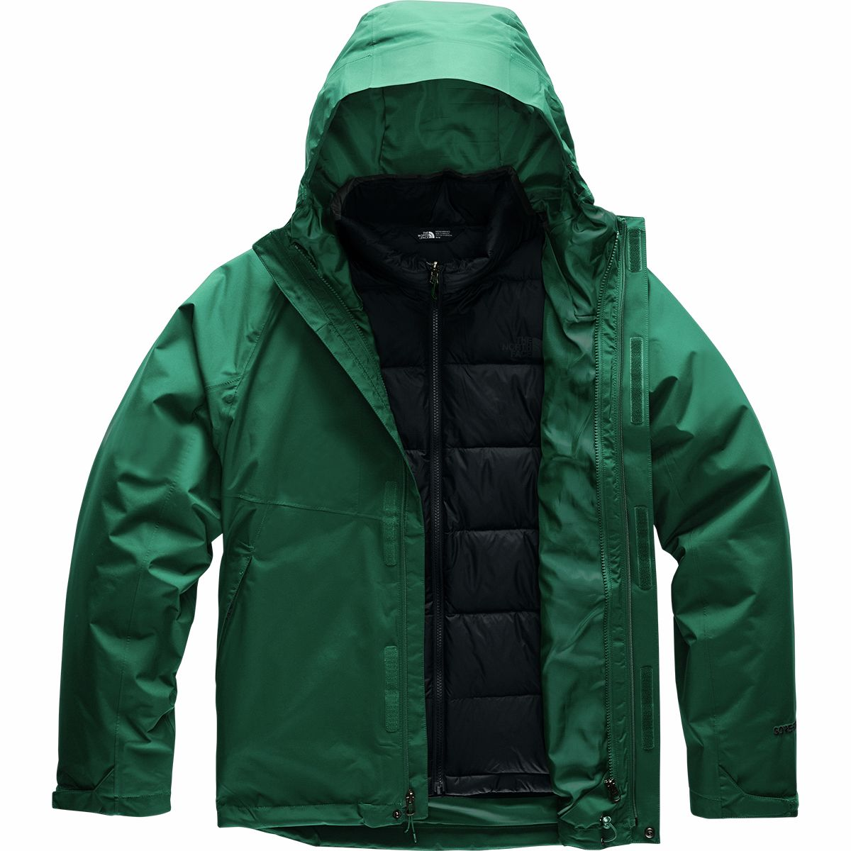 photo: The North Face Mountain Light Triclimate Jacket component (3-in-1) jacket