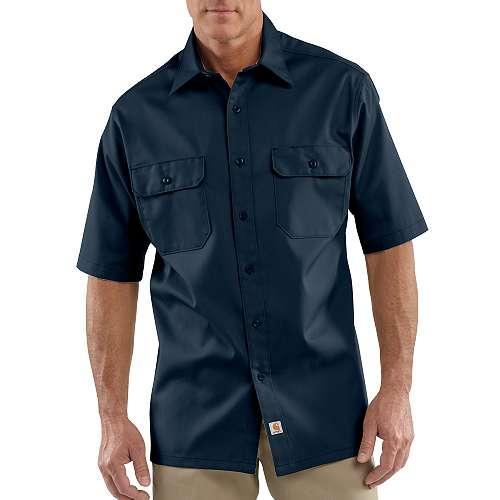 photo: Carhartt Short-Sleeve Twill Work Shirt hiking shirt